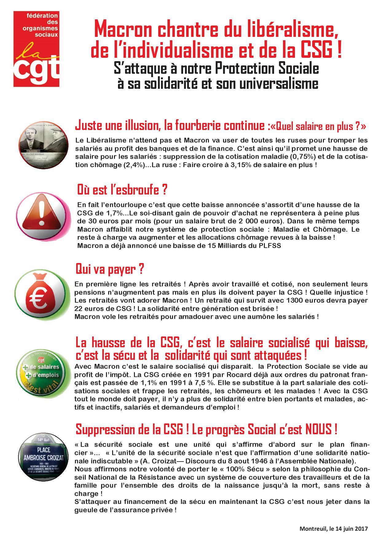 Boite A Outils Macron S Attaque A Notre Protection Sociale A Sa
